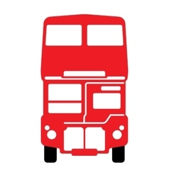 London double-decker bus vector