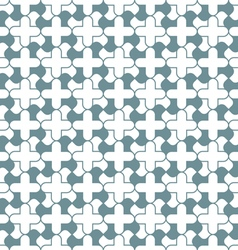 Abstract curved simple geometric seamless pattern vector