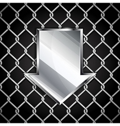 Arrow background Eps 10 vector image