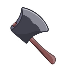 axe isolated vector image