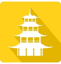 Pagoda vector