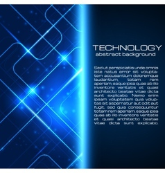 Technology background with space for your text vector