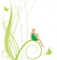 fairy symbol vector image