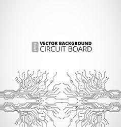 Abstract background of digital technologies vector