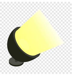 Spotlight isometric icon vector