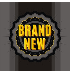 Brand new stamp vector