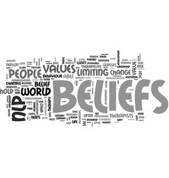 Believe you can text word cloud concept vector
