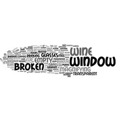 Glass word cloud concept vector
