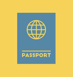 International passport vector