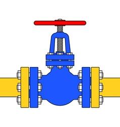 Pipeline valve vector