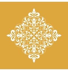 Vintage rhombus pattern for design vector image vector image