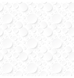 seamless background with white circles vector image