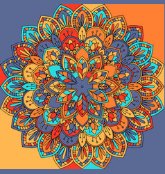 abstract mandala design vector image