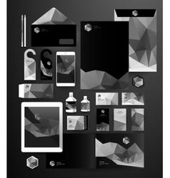 Corporate identity templates vector image