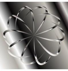 Grey swirl background vector