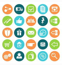 Icons online store vector