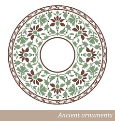 Vintage old ornament vector
