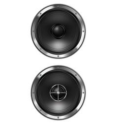 acoustic loudspeaker vector image