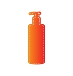 Gel foam or liquid soap dispenser pump plastic vector