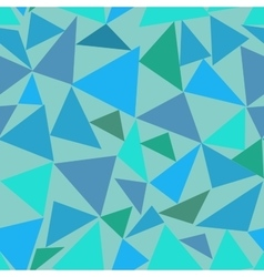 Triangle pastel seamless pattern vector image
