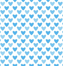 Cute blue simple seamless pattern tiling Endless vector image vector image