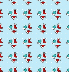 New Year pattern vector image