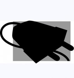 plug vector image vector image