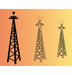 Power poles vector