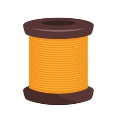 Spool of thread thread knit vector