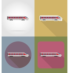 transport flat icons 68 vector image
