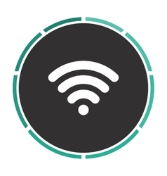 Wireless zone computer symbol vector