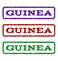 Guinea watermark stamp vector