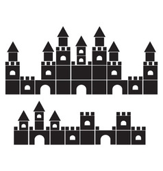 palace icon vector image