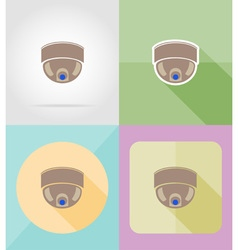 service flat icons 07 vector image