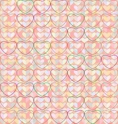 Texture heart v vector