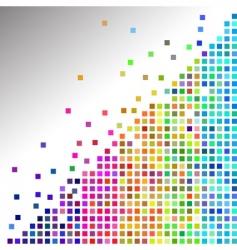 mosaic tiles vector image
