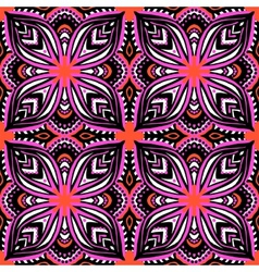 Pattern with ethnic and tribal motifs vector