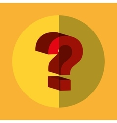 Question symbol consulting vector image