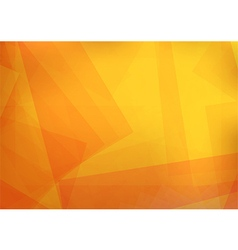 Abstract orange with Rectangle vector image vector image