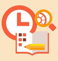 Time diary studies vector