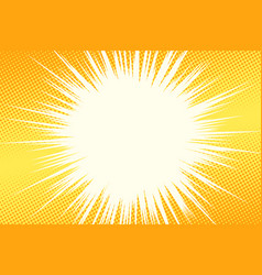 yellow light background vector image