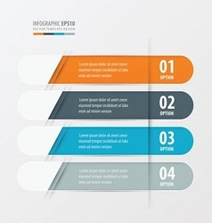 Banner rounded design orange blue gray color vector