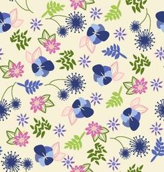 Beautiful vintage floral pattern vector