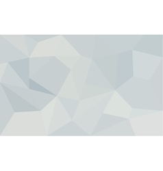 Abstract white geometric paper background vector