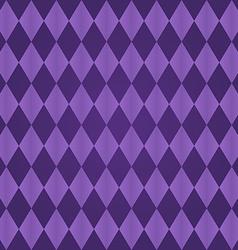 Seamless harlequin pattern-purple vector image