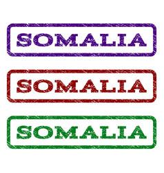 somalia watermark stamp vector image