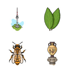 Travel beekeeping and other web icon in cartoon vector