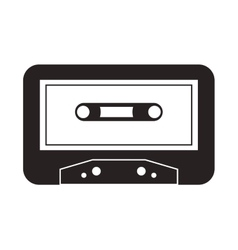 Cassette music sound design vector