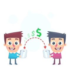 Easy way to send money vector