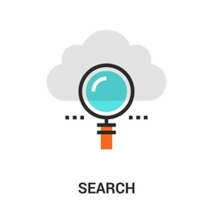 Search icon concept vector